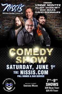 Nissi's June 1st two shows
