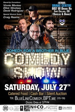 Comedy Show Drake Center July 27th