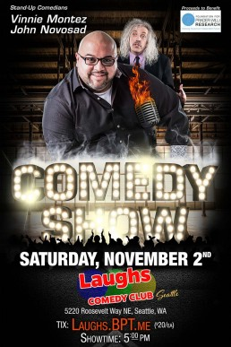 Vinnie Montez at the Laughs Comedy Club Seattle